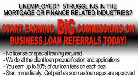 Loan broker affiliate program